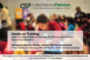 Workshop on Cyber-Safety for Women & Children
