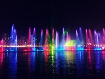 Waterfront Light Show, Sharjah